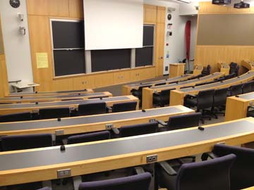 Maxwell Dworkin G115 - Lessin Lecture Hall
